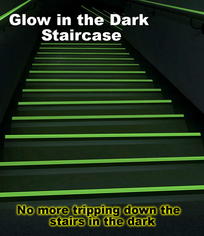 Qoo10 Glow In The Dark Staircase Nozing And Path