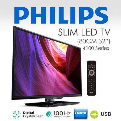 Philips 32PFK4101 unboxing - YouTube