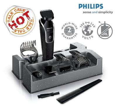 qoo10 philips 9 in 1 mens grooming kit qg3342 waterproof beard trimmer 2 y bath body. Black Bedroom Furniture Sets. Home Design Ideas