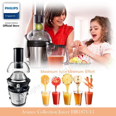 Philips avance collection juicer hr1871 xxl