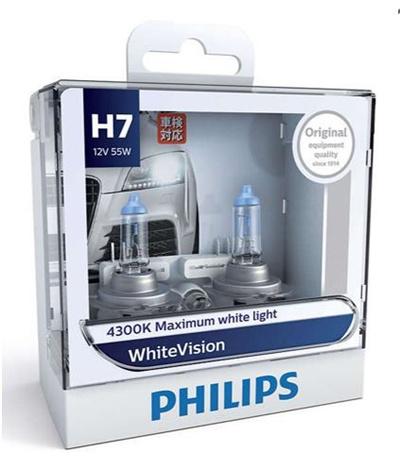 qoo10 philips white vision 4300k halogen bulbs xenon. Black Bedroom Furniture Sets. Home Design Ideas