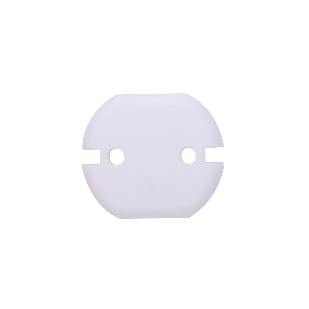 6pcs Oval-Form-Plastik Machine Head Buttons für E-Gitarre Uklele Rot
