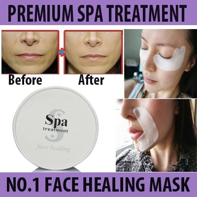 Spa Treatment Face Healing Eye Mask