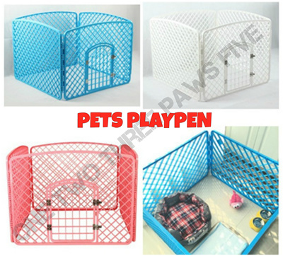 Qoo10 promo ready stock pet cage playpen fence for Discount guinea pig supplies