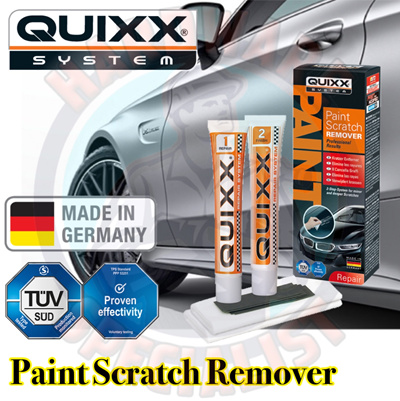 qoo10 quixx paint scratch remover made in germany automotive industry. Black Bedroom Furniture Sets. Home Design Ideas