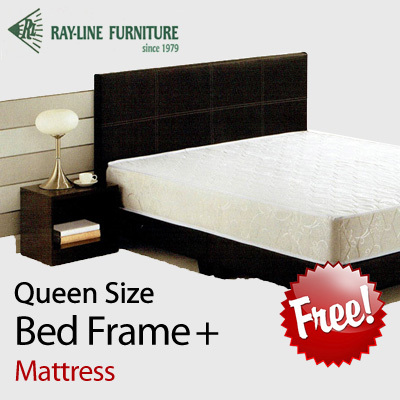 Qoo10 Rayline Trading Queen Size Bed Frame Free Mattress Best Price G Furniture Deco