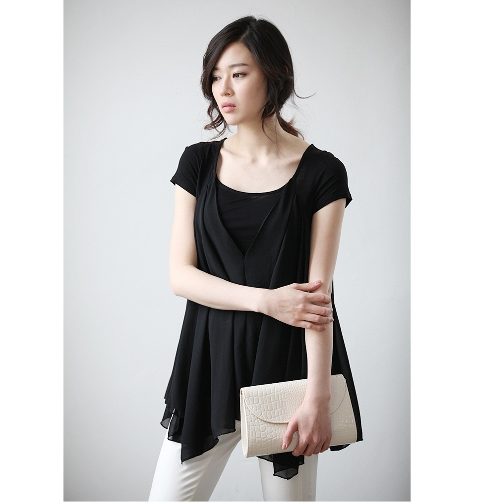 43efc607242 http   list.qoo10.sg item WOMENS-CHIFFON-PEPLUM-SLEEVELESS ...
