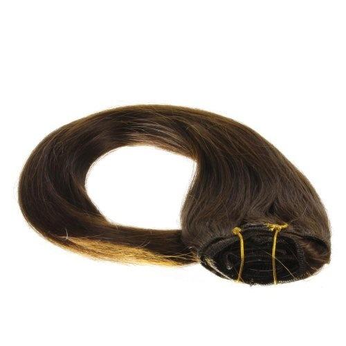 ARI Haarklemmen BRAUN Glatt 12 St. 4 cm
