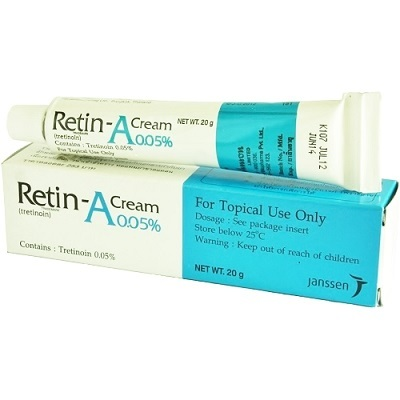 qoo10 retin a cream 20g remove acne age spots wrinkles anti skin care. Black Bedroom Furniture Sets. Home Design Ideas