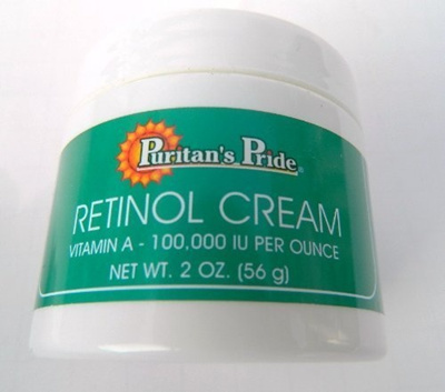 Qoo10 - Retinol Cream, 2 oz, A 100,000 IU per oz by