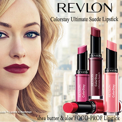Qoo10 - Revlon Colorstay Ultimate Suede Lipstick^Apply Once and Go ...