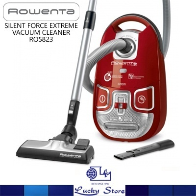 qoo10 rowenta silent force extreme vacuum cleaner. Black Bedroom Furniture Sets. Home Design Ideas