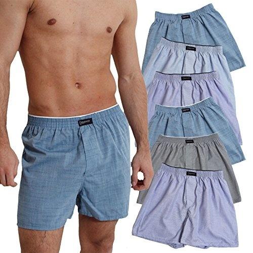 Head Short Boxer 4er Pack Trunk Unterhose Blue Heaven Blau Jeans NEUE Farbe