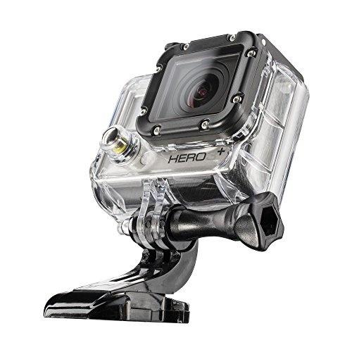 VanGoddy Semi Hard EVA Carrying Case for Samsung WB800F Digital Camera and Screen Protector and Tripod Stand and Screen Protector Gun Metal