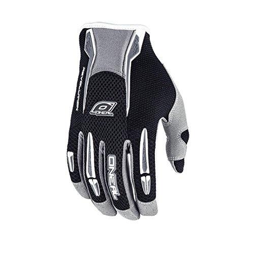 ONeal Reactor MX Handschuhe Schwarz Grün Moto Cross Enduro Downhill MTB Fahrrad