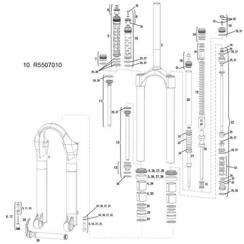 Continental Schlauch Compact 10 11 12 AV 45°