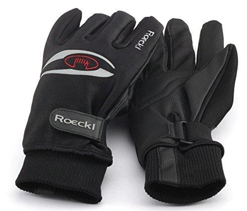 Small Junior Chiba Titan Full Fingered MTB Gloves Black Neon Yellow