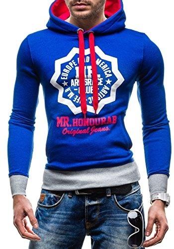 SUBLEVEL  Pullover Kapuzen-Sweater Hoodie Gr.S-XXL
