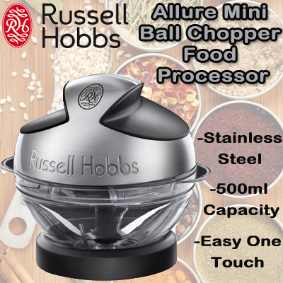 qoo10 russell hobbs allure mini ball chopper food. Black Bedroom Furniture Sets. Home Design Ideas