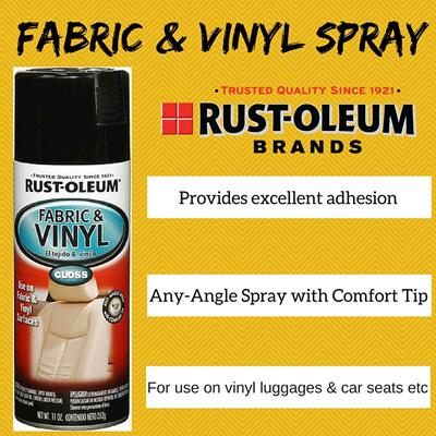 qoo10 rust oleum fabric and vinyl spray gloss furniture. Black Bedroom Furniture Sets. Home Design Ideas