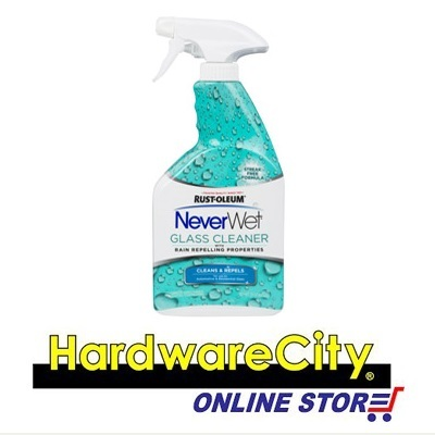 Qoo10 Rust Oleum Neverwet Glass Cleaner 650 Ml Cleans And Repels Water Automotive Industry