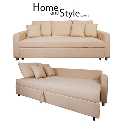 Qoo10 SALE Luxury Vernon Sofa Bed SOFA BED 1 Year Warranty ★Couch★Sofabed★H Furniture & Deco