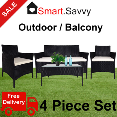 Qoo10 sale outdoor sofa set chairs outdoor furniture for Outdoor sofa set sale