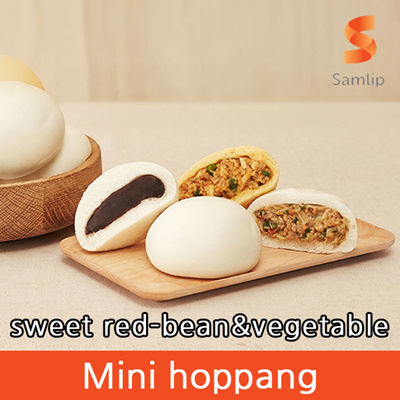 Qoo10 - [SAMLIP] 1+1+1 Mini hoppang / sweet red-bean ...