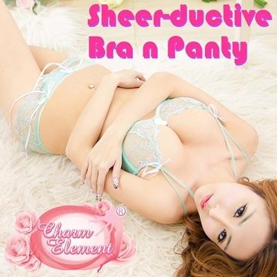 Qoo10 - ♥Sexy Lingerie♥ Fashion Bra n Panty Set ♥ See thru ...