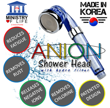 qoo10 shiok spa anion filter shower head high quality good for skin b household. Black Bedroom Furniture Sets. Home Design Ideas