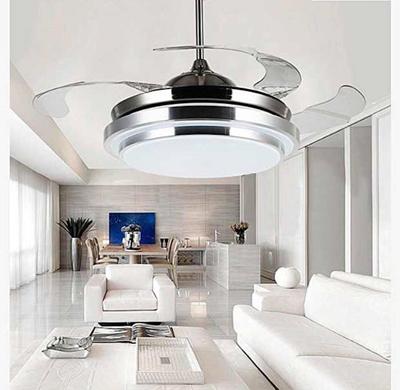 Elegant Singapore Seller Best Seller Retractable Ceiling Fan Ready Stock