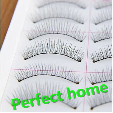 False Eyelashes Sporting 10 Pairs New Artificial Eyelashes Simulated 217 Pure Hand-made Cotton Yarn Dry Naturally Lashes Faux Mink