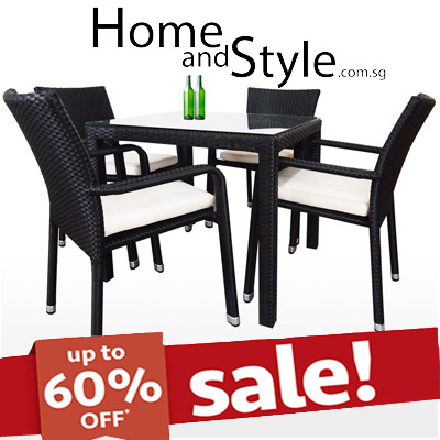 qoo10 sale palm dining set dining furniture rattan