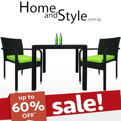 qoo10 sale palm dining set outdoor furniture dining