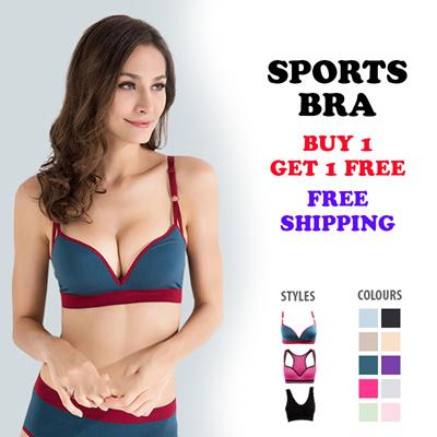 Qoo10 buy 1 get 1 free sports bra yoga bra exercise for Buy 1 get 1 free shirts