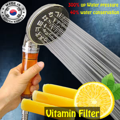 qoo10 vitamin filter shower head skin cares definite effect as you see anio household. Black Bedroom Furniture Sets. Home Design Ideas