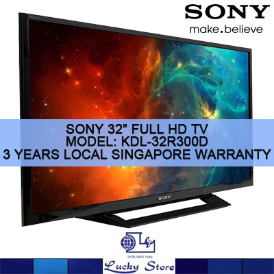 Qoo10 - SONY BRAVIA 32-INCH FULL HD LED TV * KDL-32R300D ...