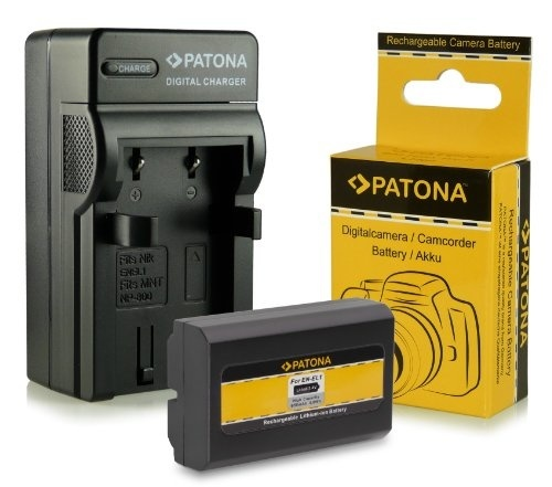 2x Batteria Patona per Jvc BN-VF707U