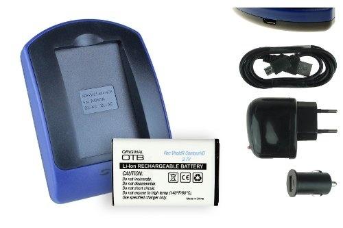 ED-BP1310 fuer SAMSUNG BP-1310 Schnell-Ladegerät mit Micro USB Plug BP1310