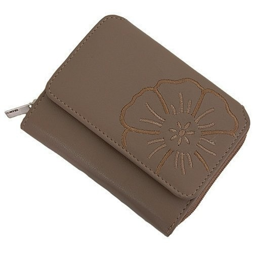 Details zu HIS Damen Geldbörse Portemonnaie Leder cognac Geldbeutel Brieftasche Monza NEU