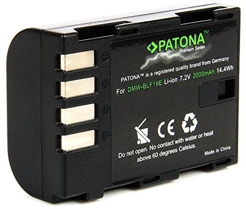 X2 Batterie LP-E8 patona premium per canon eos 650d canon eos 700d da 1120 mah