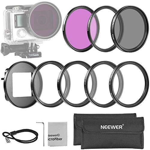 DURAGADGET Black Neoprene Case With Secure Zip Closure For Nikon COOLPIX S3300 And Nikon 1 J1 Compact System Camera with 30-110mm Lens Kit