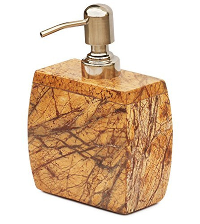 qoo10 souvnear souvnear natural brown marble stone On brown marble bathroom accessories