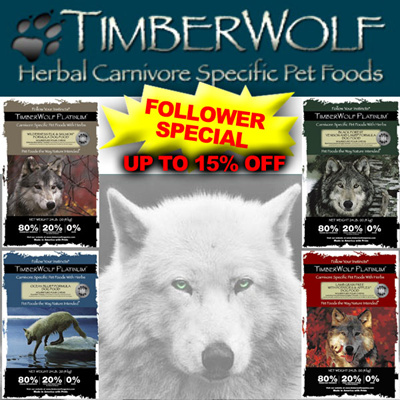 "Timberwolf Dog Food. Timberwolf dog food claims that their foods ""combine the health benefits of a raw diet with the convenience of dry food"". Some dog owners swear by Timberwolf dog food, while others question the quality of the formulas."