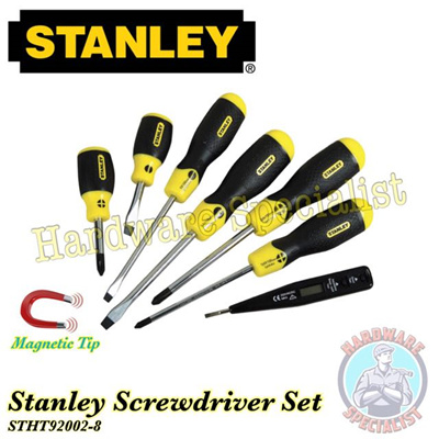 qoo10 stanley 6 pieces screwdriver set free test pen stht92002 furniture deco. Black Bedroom Furniture Sets. Home Design Ideas