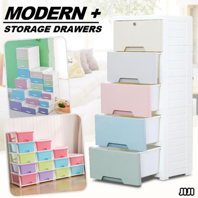 Qoo10 STORAGE DRAWERS ★MODERN STORAGE DRAWERS CABINETS