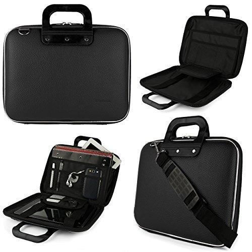 Zhouminli Vintage Leather Tote Briefcase Multifunction Leather Expandable Briefcase Mens Portable Leather 3 Colors Retro Laptop Messenger Bag Color : Brown