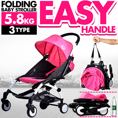 Qoo10 - SUPER LIGHTWEIGHT! Folding Baby Stroller/Summer Baby ...
