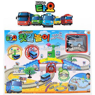 Qoo10 ˜�tayo The Little Bus★ Tayo Rail Play Tayo