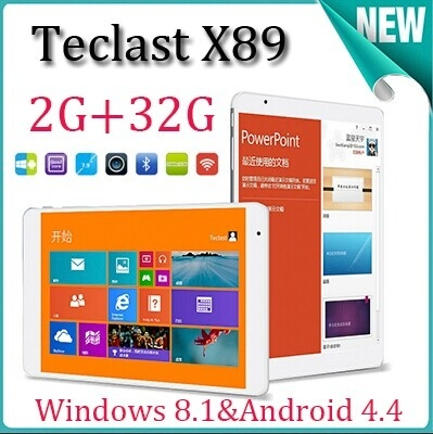teclast x89 dual os win8 1 / android 4 4 dual boot intel 7 9 inch retin keeps saying
